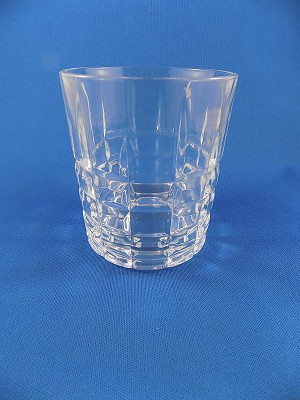 Clear Crystal Scotch Glass