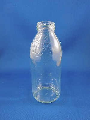 "Juice Bottle - 7"" Tall"