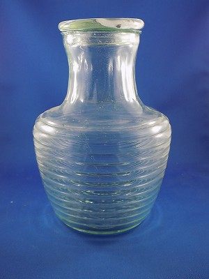 "Bee Hive Juice Jug  - 9"" Tall"