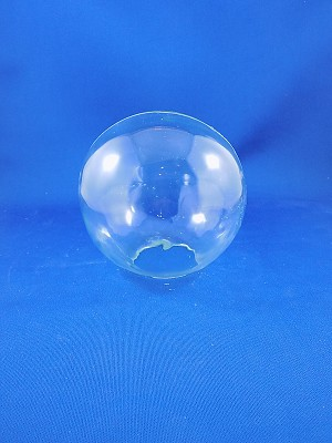 "Clear Glass Ball - 41/2"" Tall, 4 1/2"" Wide"