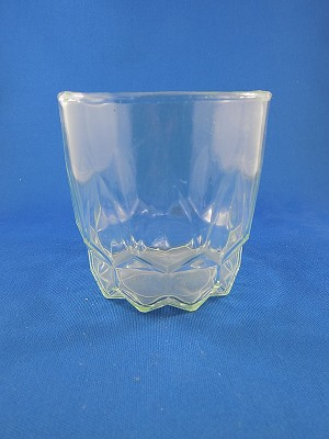 "Crystal Glass - Small - 3 3/8"" Tall"