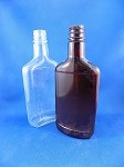 Mickey New Style Bottle - Brown & Clear - 8 1/4