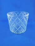 Clear Crystal Glass - 3 1/8